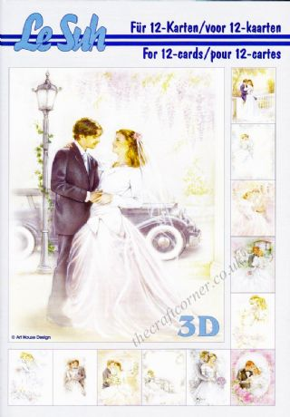 Wedding A5 3D Decoupage Book from Le Suh